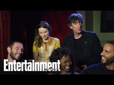 American Gods Emily Browning, Ian McShane And More Discuss Come To Jesus  Entertainment Weekly