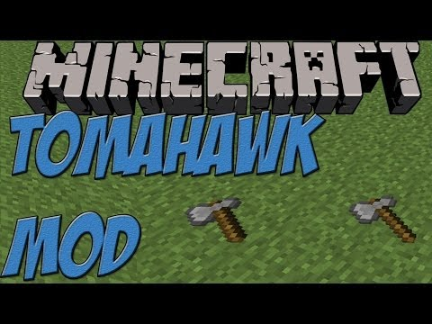 Minecraft 1.7.2 PC | Mods | Tomahawk MOD [Review] | HD