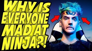Explained: Why is Everyone MAD at NINJA?!