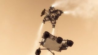 Mars Rover Curiosity - The Difficult Landing Approaches | NASA JPL MSL Space Science HD