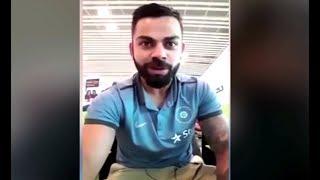 Watch Virat Kohli Message To Pakistani Fans
