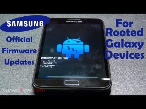 How to Update Rooted Samsung Galaxy Devices (Galaxy S4. Note 2. S3. S2. Note. Nexus & More)