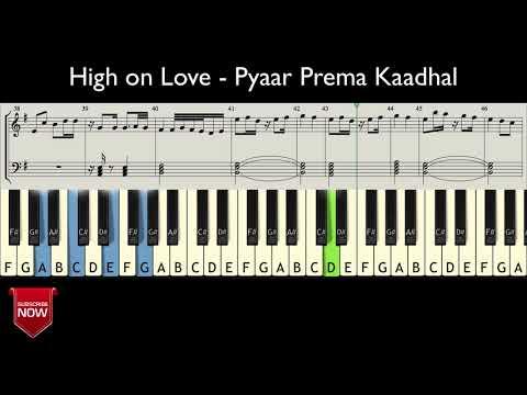 Download Lagu  High on Love - Pyaar Prema Kaadhal  HOW TO PLAY   NOTES Mp3 Free