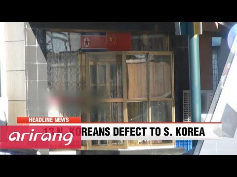 NEWSCENTER 22:00 13 N. Koreans working at foreign restaurant defect to S. Korea