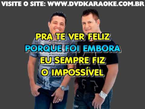 Bruno & Marrone & Eduardo Costa   Voce Foi Atriz