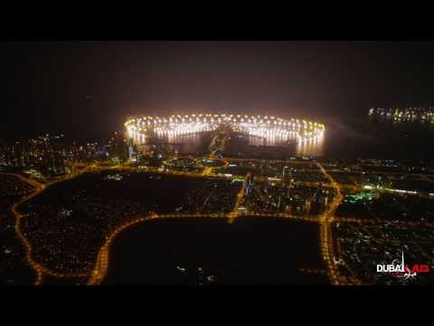 Dubai New Year Fireworks 2014 - World Record 4K