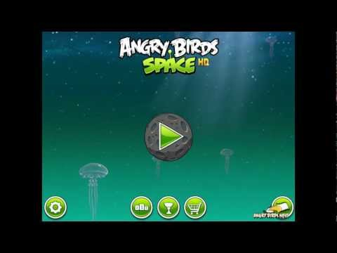 Angry Birds Space First Look at Power-ups: Flock of Birds, Space Eggs, Pig Puffers