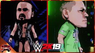 WWE 2K19 Chibi Universe Mode Part 16: Drew McIntyre & John Cena In Action