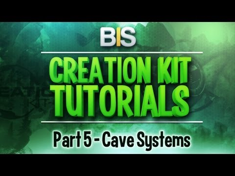 Skyrim Creation Kit Tutorials - Episode 5: Creating Cave Systems