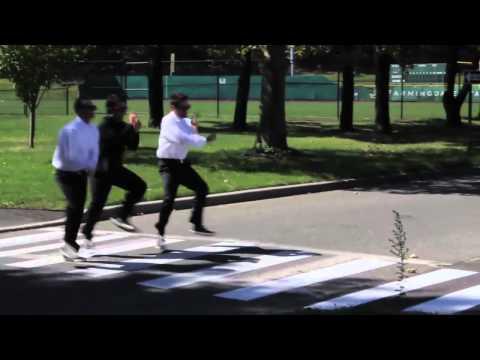 Crossing The Street: Gangnam Style