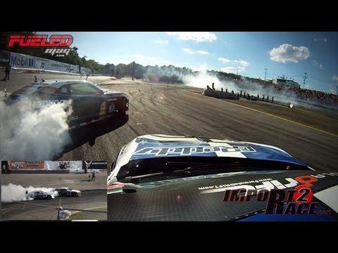 GReddy FR-S vs Hankook Camaro Drifting