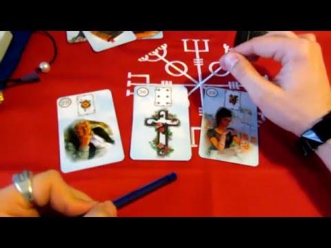Примеры раскладов на винтажном оракуле ленорман на ютубе