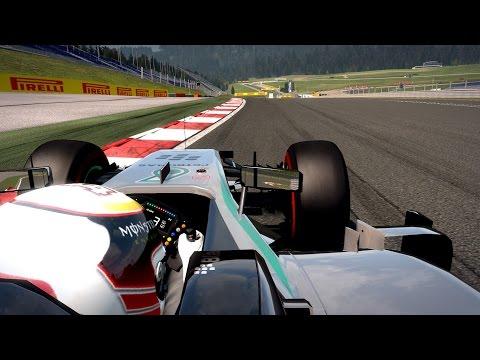 F1 Austrian Grand Prix 21/09/2015 - Hamilton - Mercedes | Tour de reconnaissance