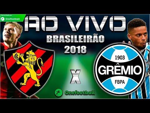 Sport X Grêmio Ao Vivo HD | Brasileirão 2018 | Parciais Cartola FC | 13ª Rodada | 13/06/2018