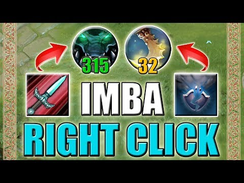 Insane Right Click Damage Gain [+Damage/+Agility/-Armor] Dota 2 Ability Draft