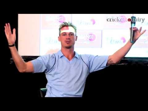 Dale Steyn explains how to control the swing while bowling