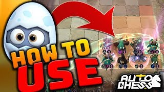 The BEST way to use Strange Egg! 🐣| Dragon Knight ⭐⭐⭐  GAME | Auto Chess Mobile