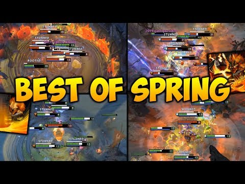 Dota 2 Earthshaker Moments [BEST OF SPRING] 2019