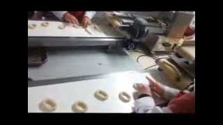 kurabiye simidi makinesi-simit fitilleme makinesi- simit makinesi bagel rolll machine