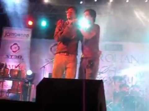 Singer Kabir Rafi On Allah Ke Bande Song With Sreeram Live In Concert Rehnuma video