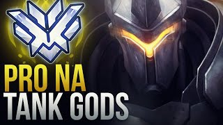 BEST NORTH AMERICAN TANK GODS - Overwatch Montage