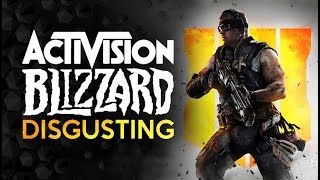 Activision Blizzard is Disgusting - Record Revenue Leads to Mass Layoffs