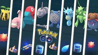 ¡Las 8 evoluciones con piedra evolutiva o ítem evolutivo en Pokémon GO! Keibron Gamer
