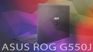 Asus ROG G550J Video İnceleme