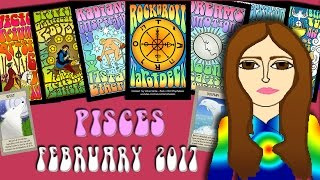 PISCES  February 2017 Tarot psychic reading forecast predictions free