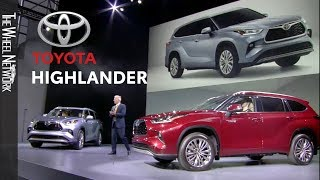 2020 Toyota Highlander Reveal at the New York Auto Show – Full Press Conference