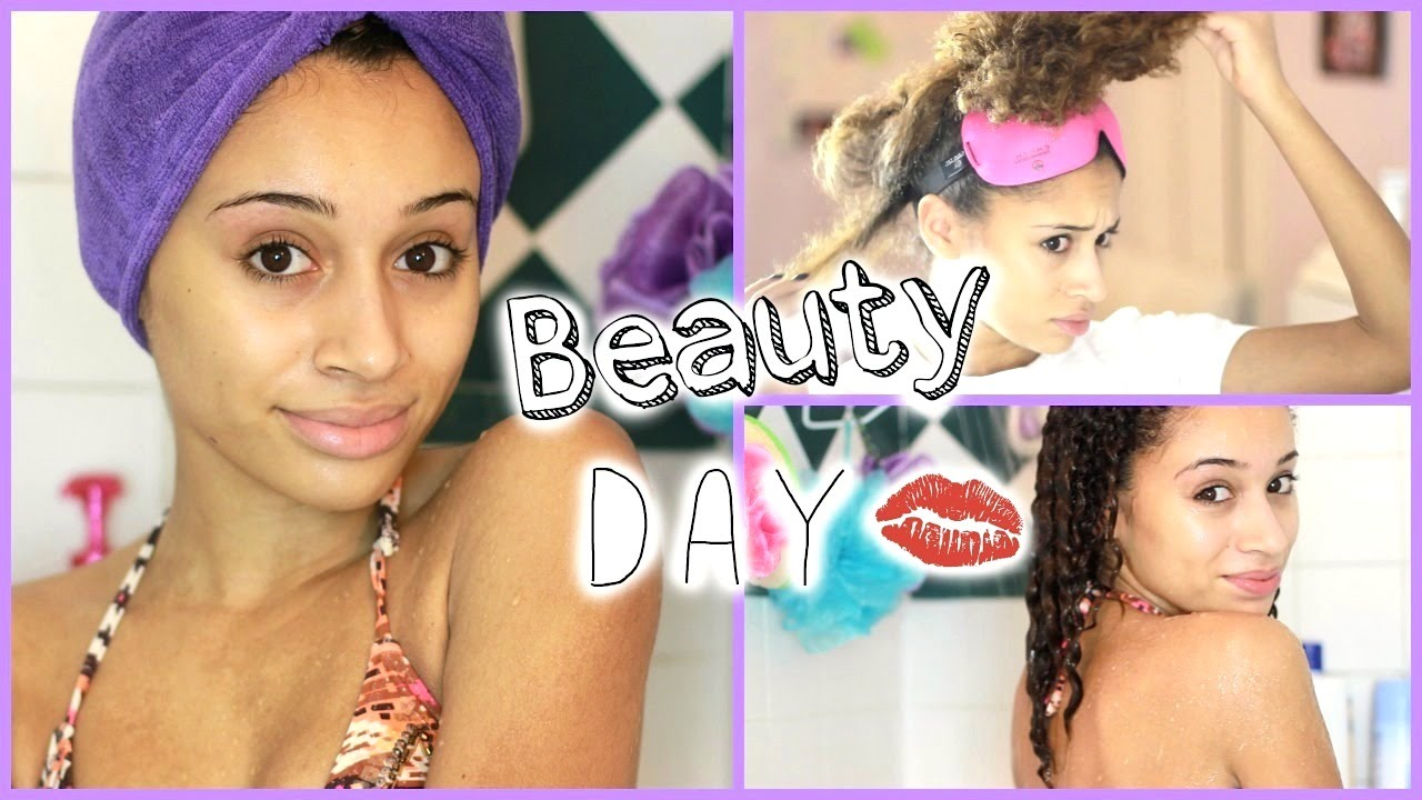 My Beauty Day Routine (Spa Time, Hair Removal, & MORE!)