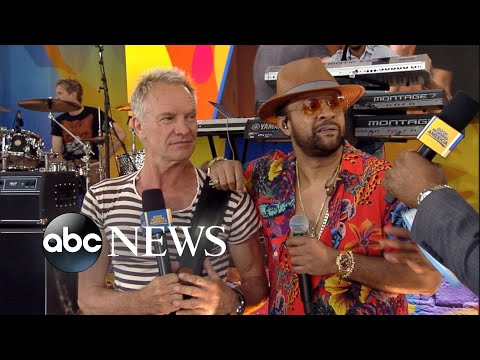 Catching up with Sting and Shaggy on 'GMA'
