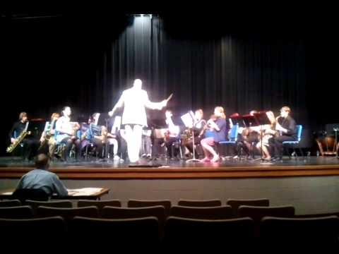 Milton High School Saxophone Choir - 2012 Solo & Ensemble