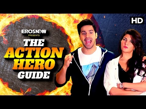 Varun Dhawan's Guide To Becoming An Action Hero | Dishoom