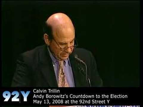 0 Calvin Trillin at the 92nd Street Y