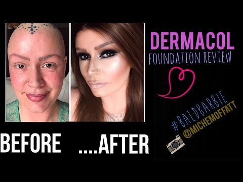 DERMACOL foundation review. Full coverage / camouflage make up