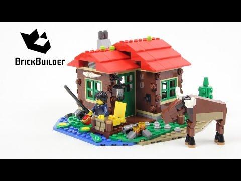 Lego Creator 31048 Lakeside Lodge - Lego Speed Build