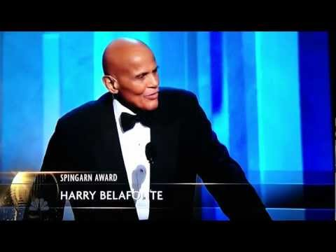 NAACP Image Awards | Harry Belafonte Speaks on Gun Control in Acceptance Speech | Feb 1, 2013