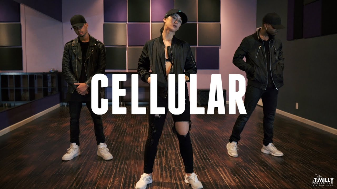 "Derrick Milano ""Cellular"" Dance [User Submitted]"