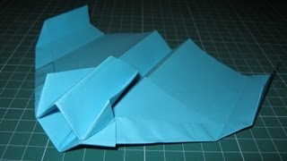 Origami Tutorial Starfighter Paper Airplane (john Collins)
