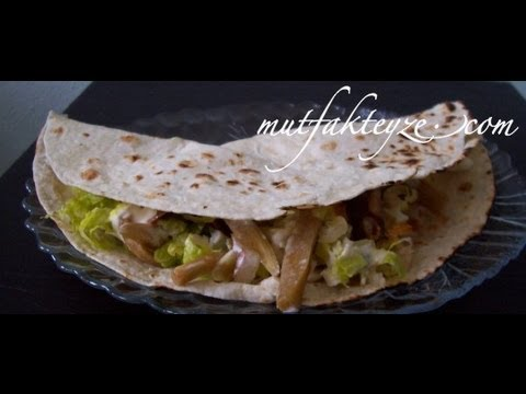 tavuklu meksika taco tarifi