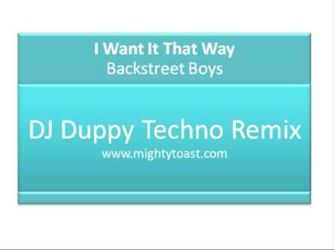 I Want It That Way - DJ Duppy Remix