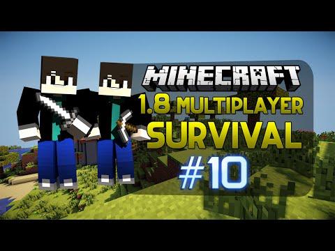 Minecraft 1.8 Multiplayer Survival - Bölüm 10 - Yiğit Yine Deli Etti w/Facecam