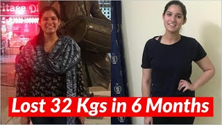 Weight Loss Journey: How She Lost 32 Kgs in 6 Months | Weight Loss Transformation Story | Fat to Fab