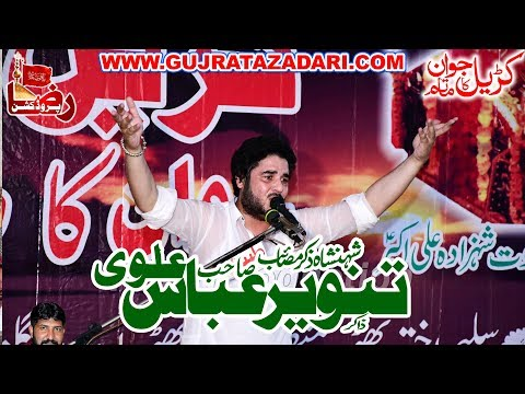 Zakir Tanveer Abbas Alve | 19 Zilhaj 2019 | Madina Syedan Gujrat || Raza Production