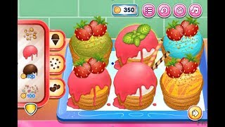 Make Churros Ice Cream Beautiful. Funny Game For Kids