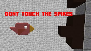 An amazing app meets Minecraft | Dont touch the spikes or DIE!