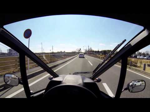 Toyota i-Road driving demonstration video