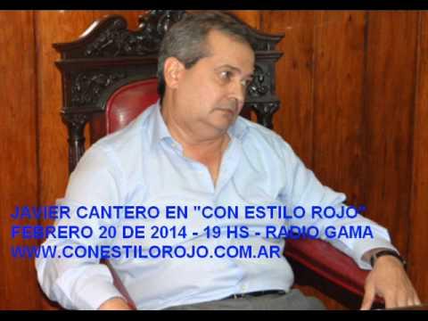 Javier Cantero: