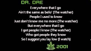 Watch Dr. Dre The Watcher video